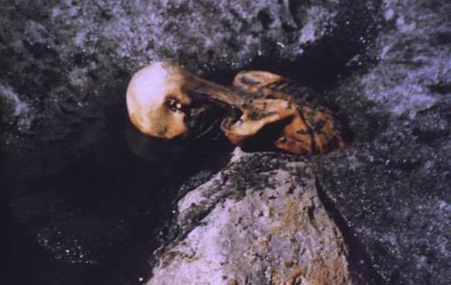 Abbildung 1: Ötzi, 19. Sept. 1991